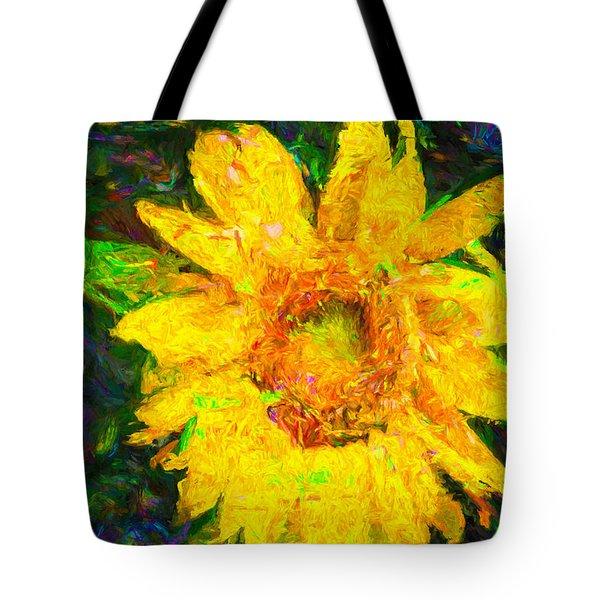 Sunflower Van Gogh Tote Bag