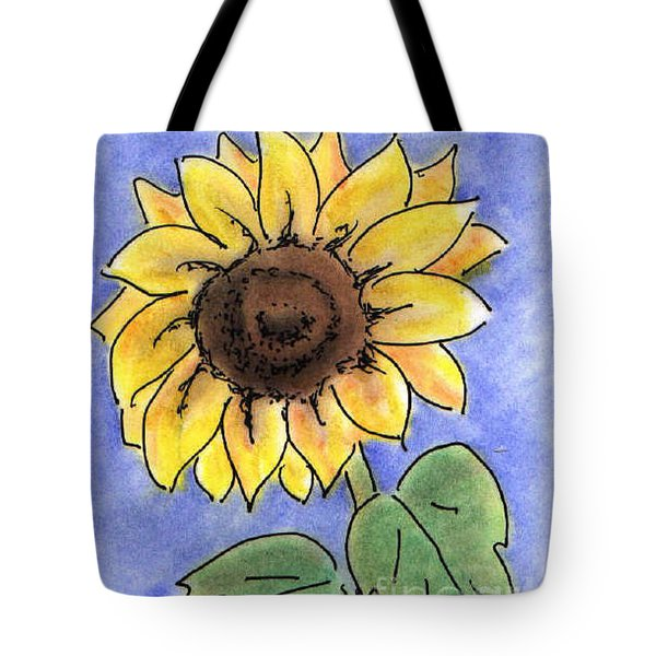 Sunflower Tote Bag by Vonda Lawson-Rosa