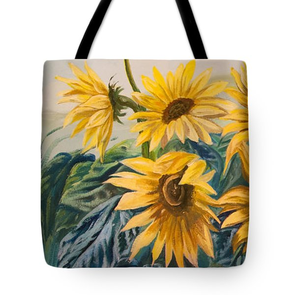 Sunflowers 1 Tote Bag by Jana Goode