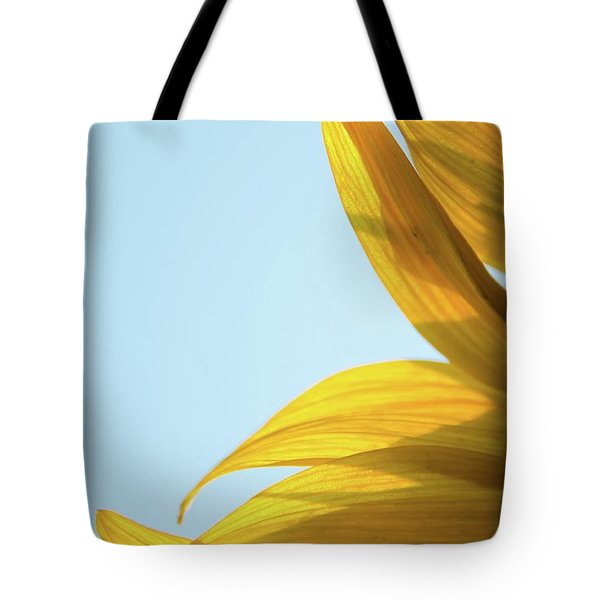 Tote Bag featuring the photograph Sunflowers 11 by Andrea Anderegg