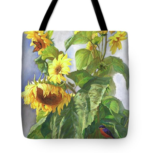 Sunflowers After The Rain Tote Bag
