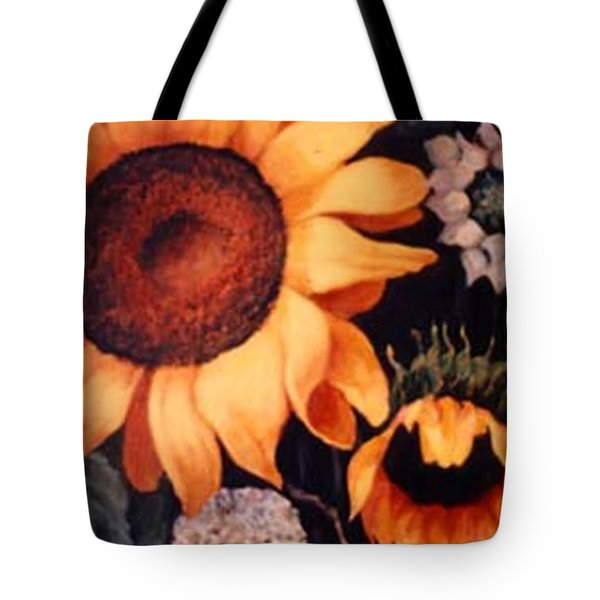 Sunflowers And More Sunflowers Tote Bag