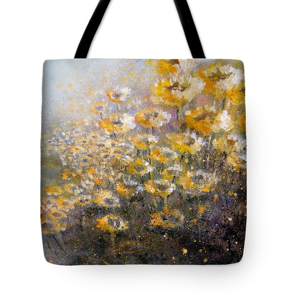 Sunflowers Tote Bag by Andrew King