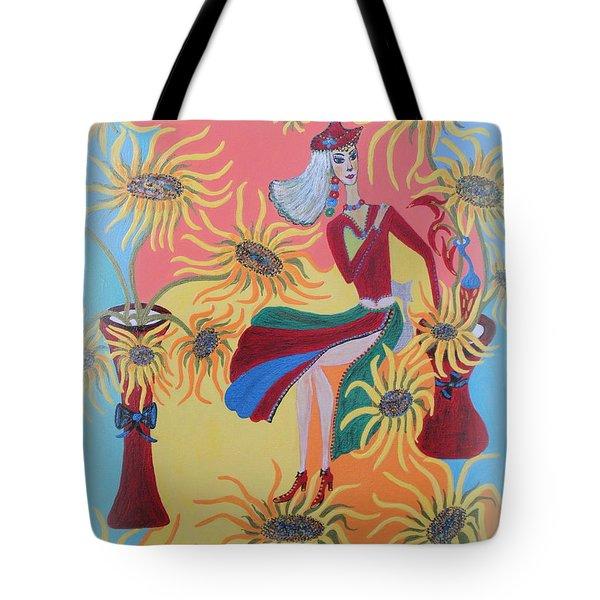 Sunflower's Contessa  Tote Bag