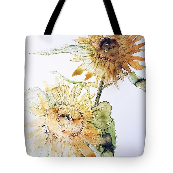Sunflowers II Uncropped Tote Bag
