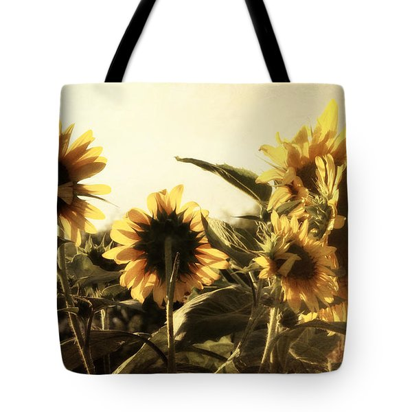 Tote Bag featuring the photograph Sunflowers In Tone by Glenn McCarthy Art and Photography