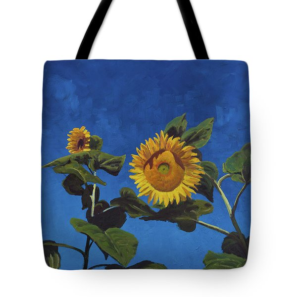 Sunflowers Tote Bag by Marco Busoni