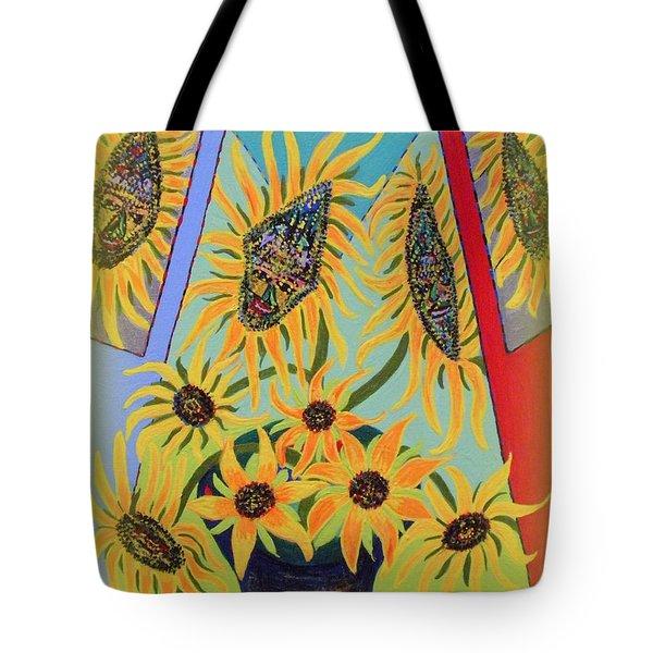 Sunflowers Rhapsody Tote Bag