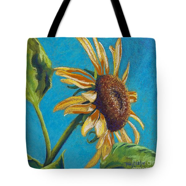 Sunflower's Shine Tote Bag by Tracy L Teeter