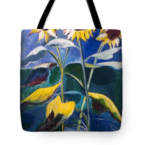 Sunflowers Standing Tall Tote Bag