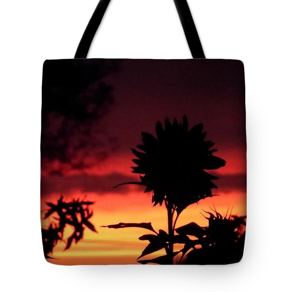Sunflower's Sunset Tote Bag
