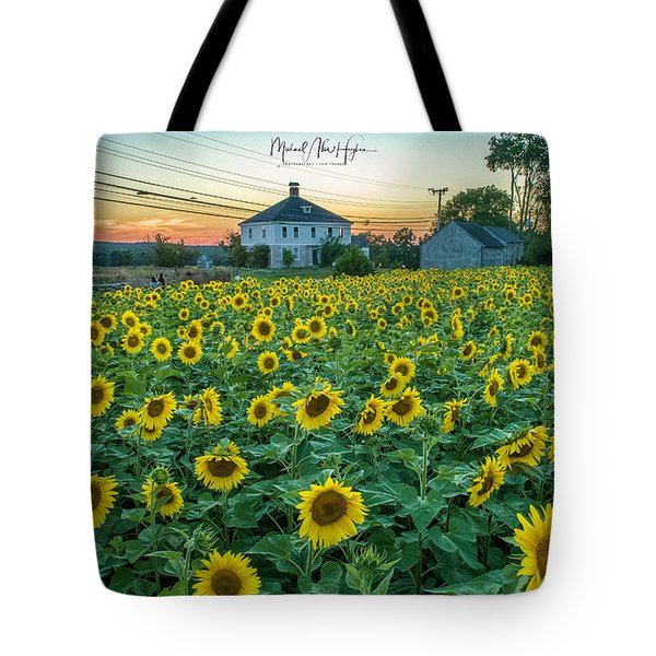 Sunflowers For Wishes  Tote Bag