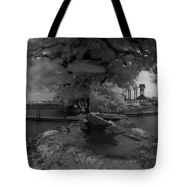 Sunken Boats Tote Bag