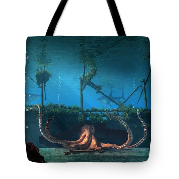 Sunken Tote Bag by Daniel Eskridge