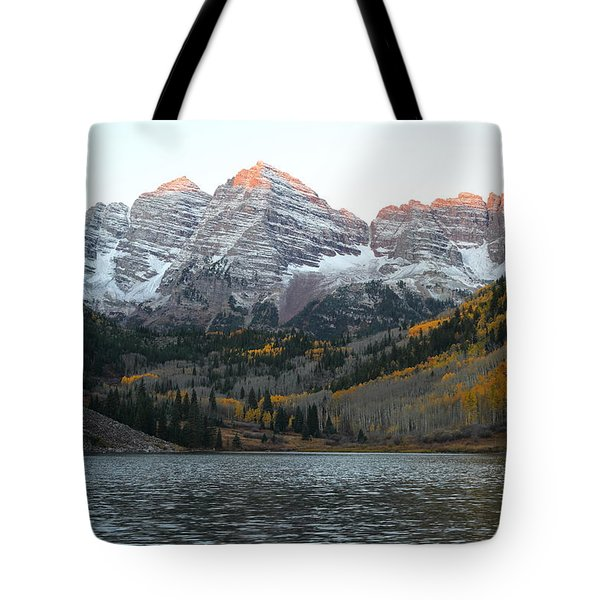 First Light Tote Bag by Eric Glaser