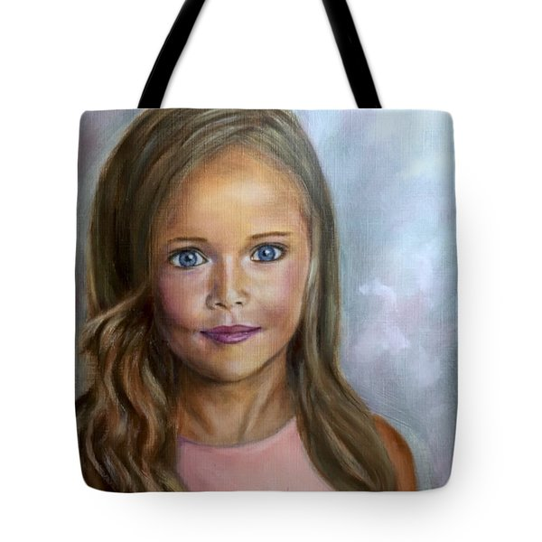 Sunkissed Innocence Tote Bag