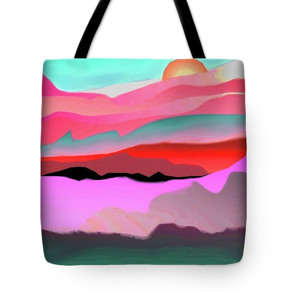Sunland 3 Tote Bag by Mary Armstrong