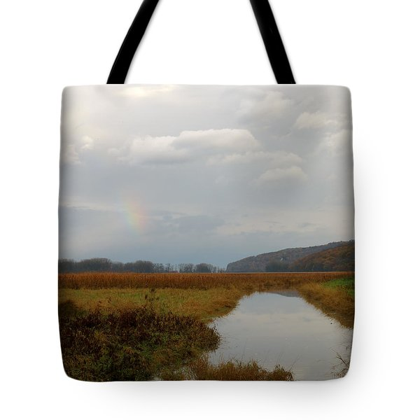 Sunless Rainbow Tote Bag