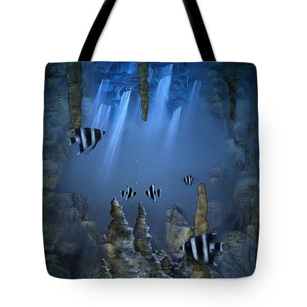 Sunlight From Above Tote Bag