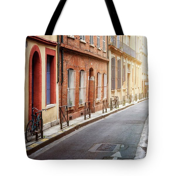 Tote Bag featuring the photograph Sunlight In Toulouse by Elena Elisseeva