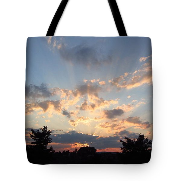 Sunlight Inspiration Tote Bag