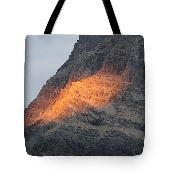 Tote Bag featuring the photograph Sunlight Mountain by Mary Mikawoz