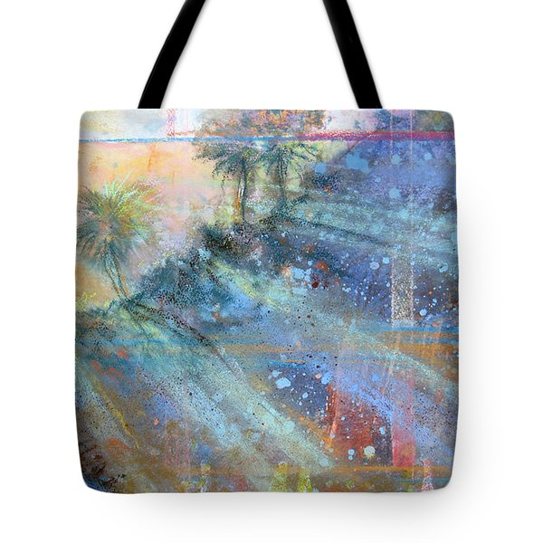 Sunlight Streaks Tote Bag by Andrew King