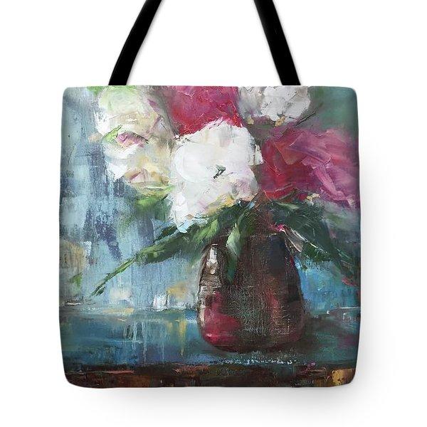 Sunlit Bouquet Tote Bag