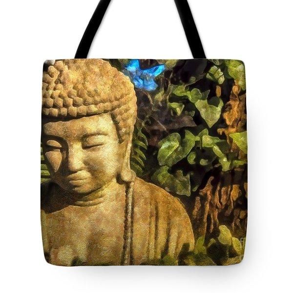 Sunlit Buddha 2015 Tote Bag