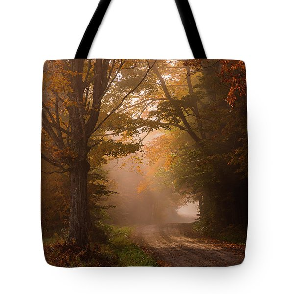 Serenity Of Fall Tote Bag