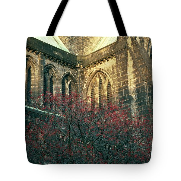 Sunlit Glasgow Cathedral Tote Bag