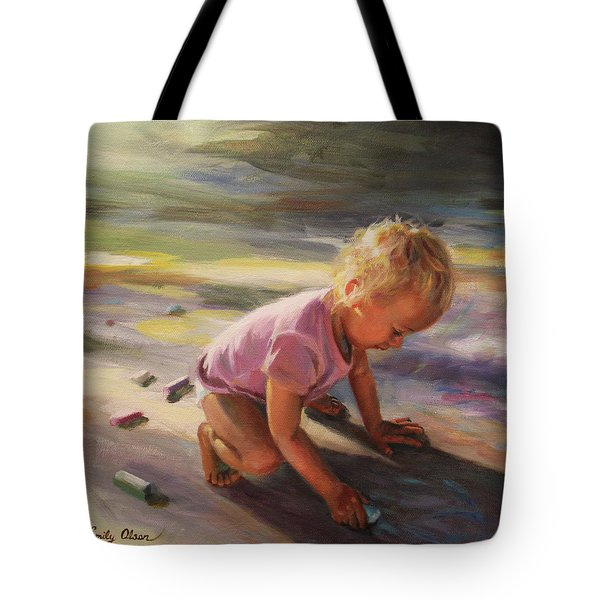 Sunlit Imaginings Tote Bag
