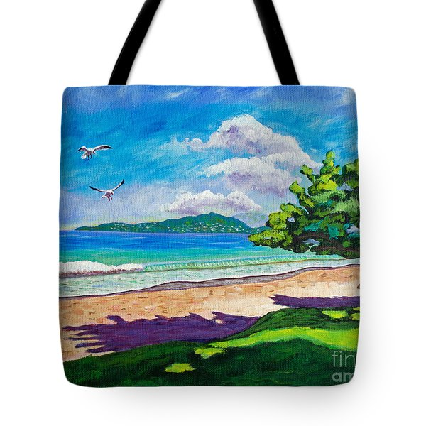 Sunlit Tote Bag by Laura Forde