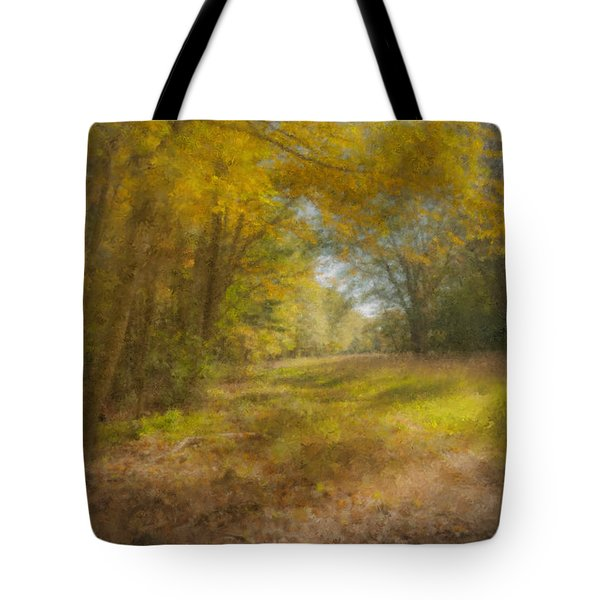 Sunlit Meadow In Borderland Tote Bag