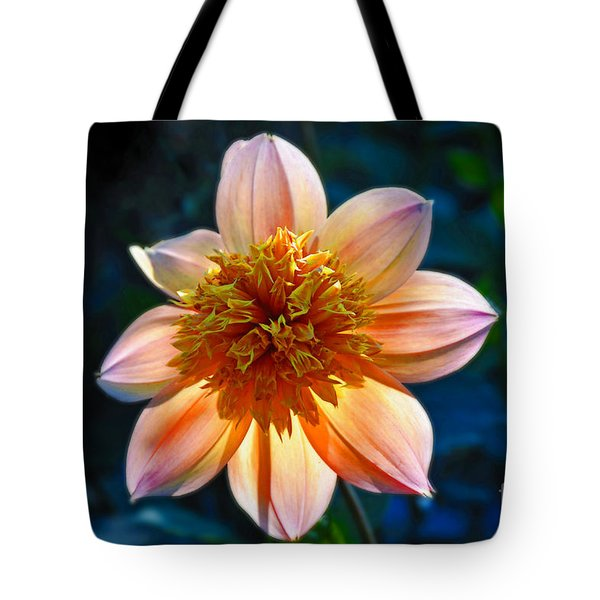 Sunlite Dahlia  Tote Bag