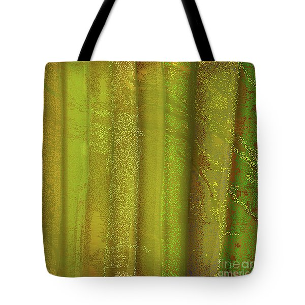 Sunlit Fall Forest Tote Bag