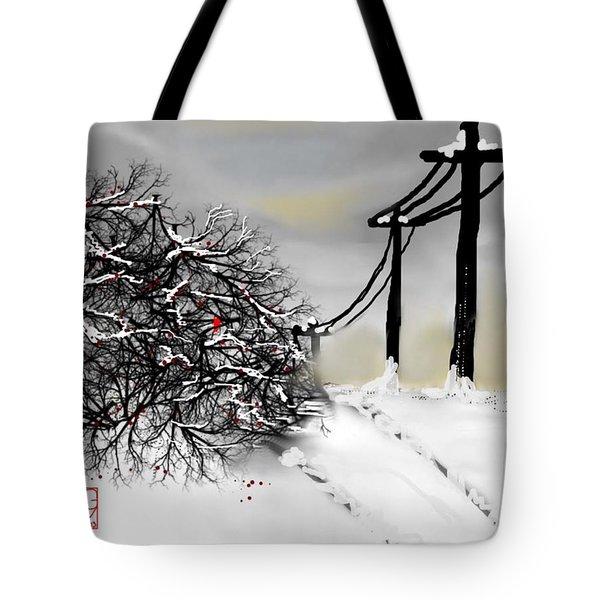 Sunny 28 Below Tote Bag