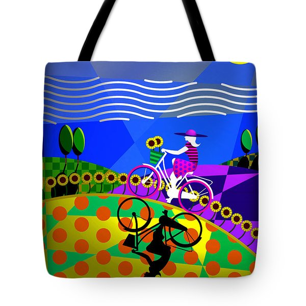 Sunny Acres Tote Bag by Randall Henrie