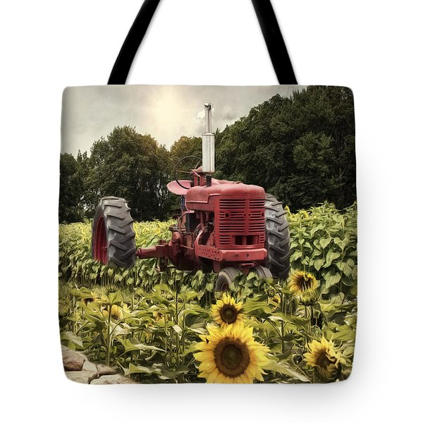 Tote Bag featuring the photograph Sunny Acres by Robin-Lee Vieira