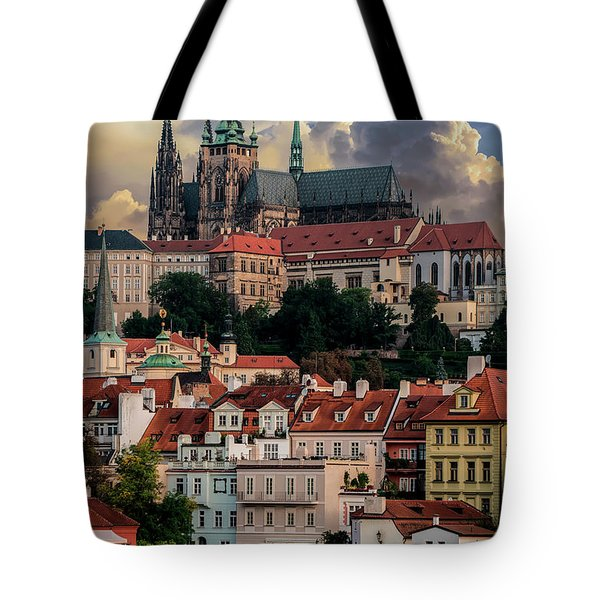 Tote Bag featuring the photograph Sunny Afternoon In Prague by Jaroslaw Blaminsky