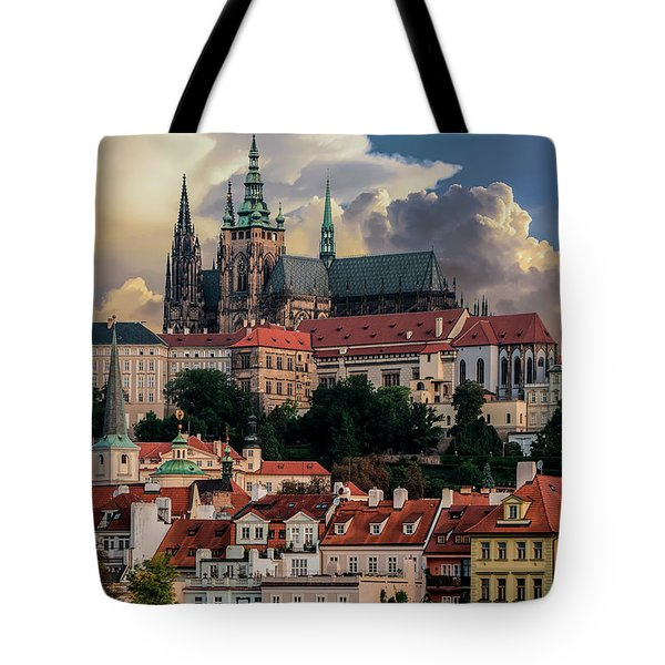 Sunny Afternoon In Prague Tote Bag