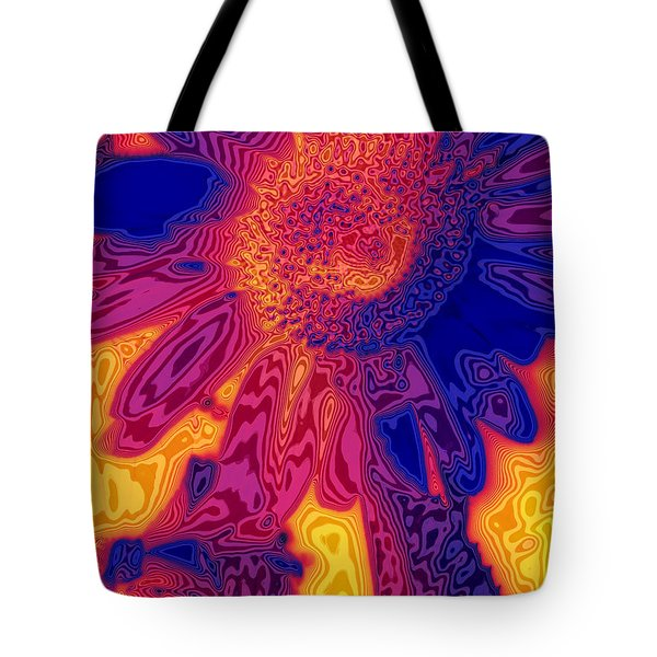 Sunny And Wild Tote Bag by Stephen Anderson