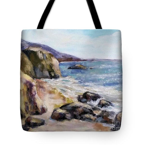 Sunny Coast Tote Bag by William Reed