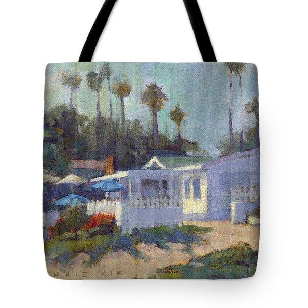 Sunny Day At Crystal Cove Tote Bag