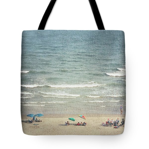 Sunny Day At North Myrtle Beach Tote Bag