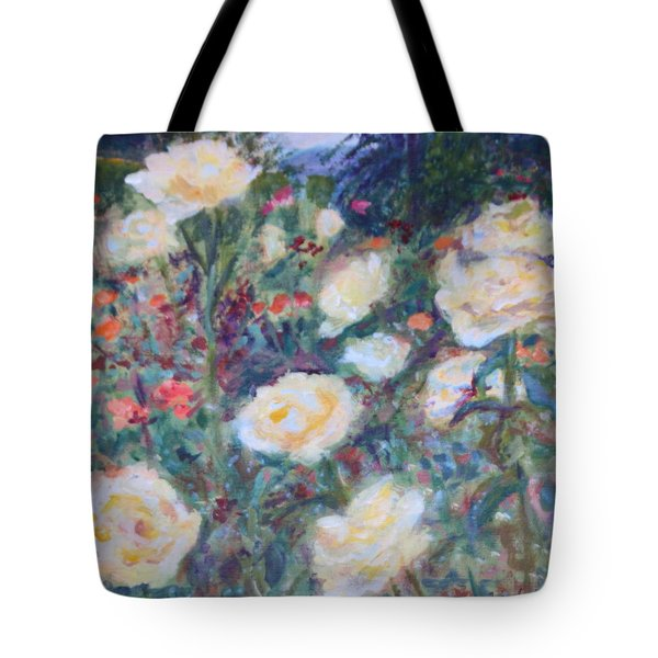 Sunny Day At The Rose Garden Tote Bag