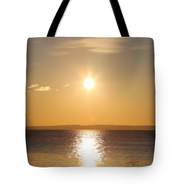 Sunny Day By The Oslo Fjords.  Tote Bag