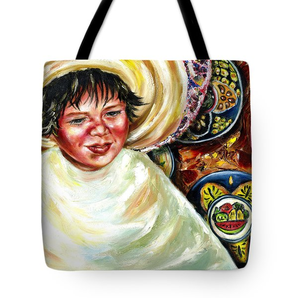 Tote Bag featuring the painting Sunny Day by Hiroko Sakai