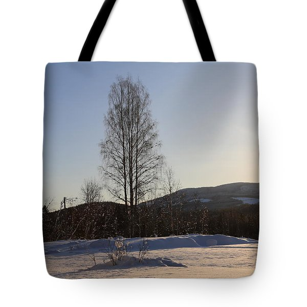 Sunny Day In Norway.  Tote Bag