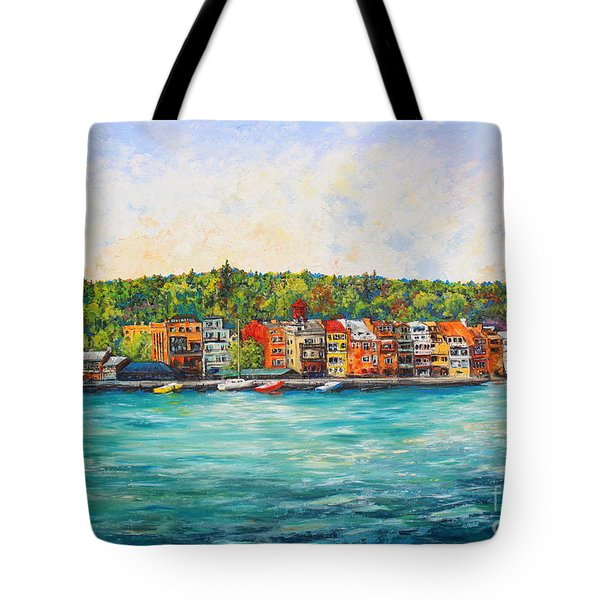 Summer In Skaneateles Ny Tote Bag
